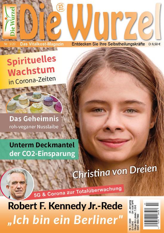 Die Wurzel Nr. 03/2020 mit Christina von Dreien