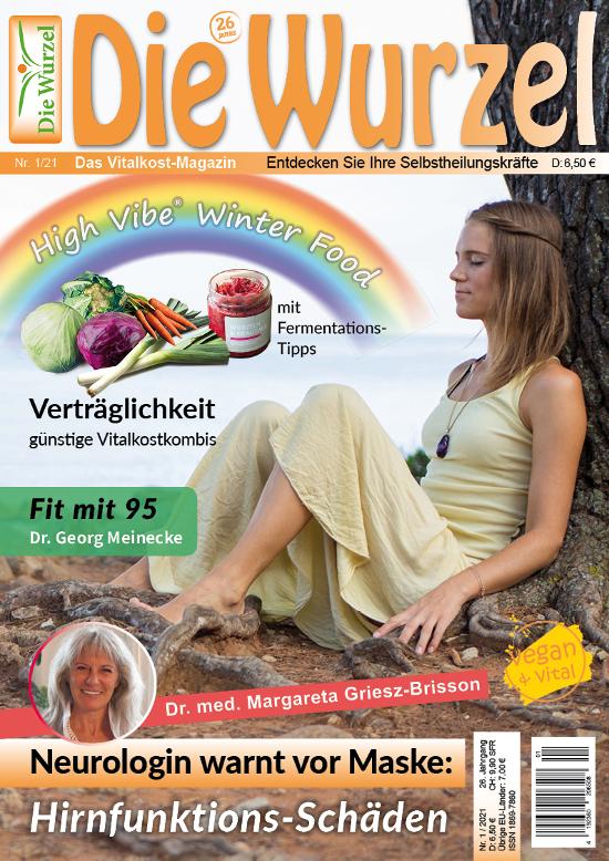 Die Wurzel Nr. 01/2021=04/2020 mit Angelika Fürstler